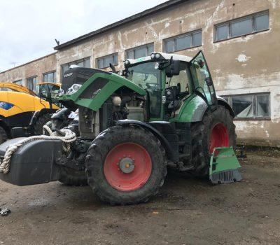 Roheline suur traktor, mille LEpp Motors seadistas võimsamaks ja ökonomsemaks
